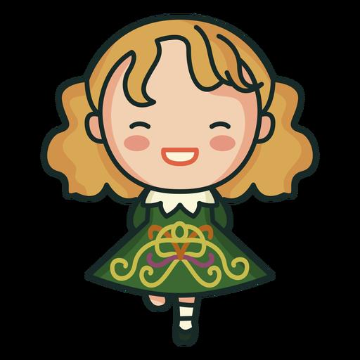 Irish patterned dress cute