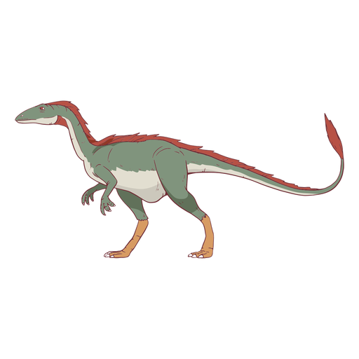 Allosaurus Dinosaurier Illustration