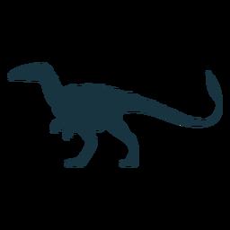 Allosaurus dinosaur silhouette