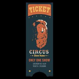 Circo impressionante tenda de circo