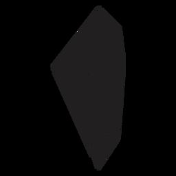 Fantastische Form Kristall