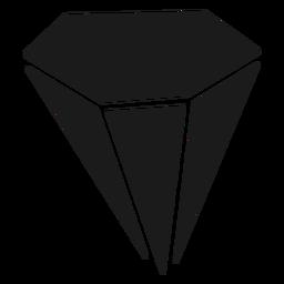 Cristal de diamante grande