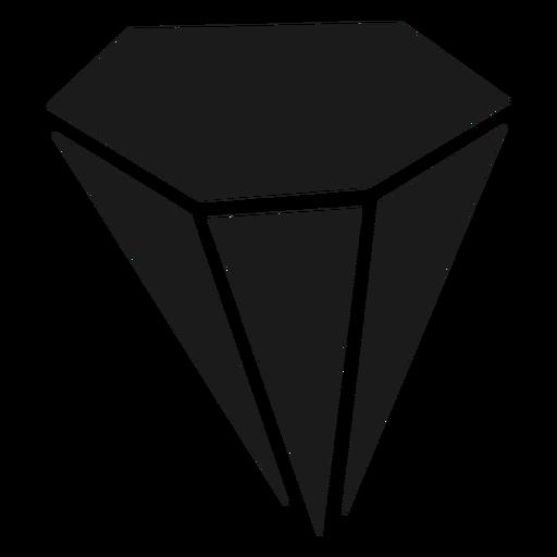 Big diamond crystal Transparent PNG