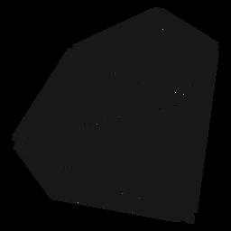 Blockform Kristall