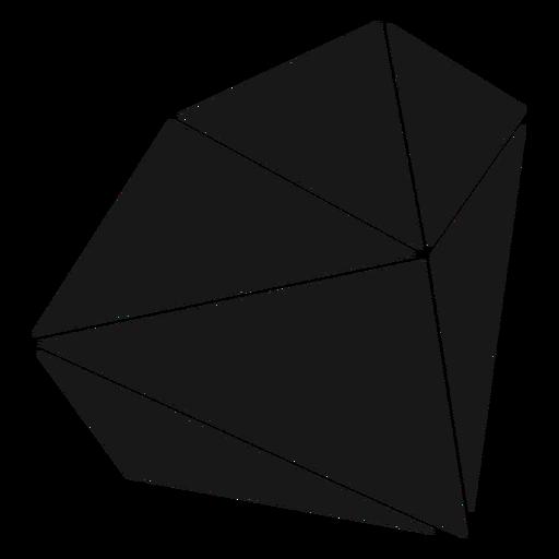 Block shape crystal