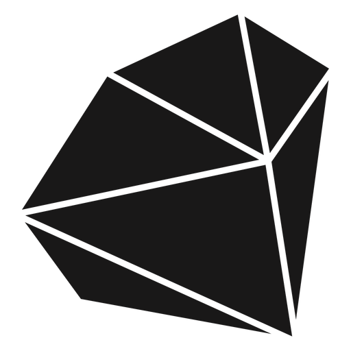 Bloque de forma de cristal