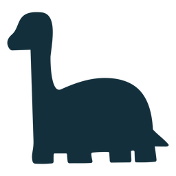 Brachisaurus dino silueta