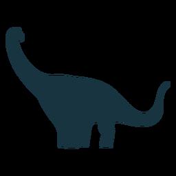 Brachisaurus dinosaur silhouette