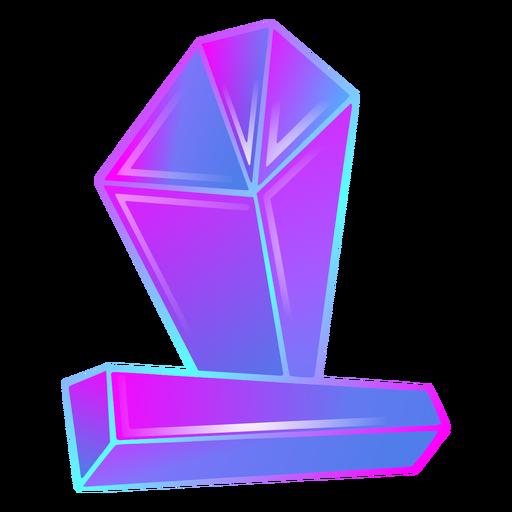 Bright colors crystals