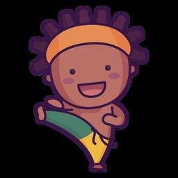 Capoeira brasil fofa