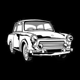 Ilustração de carro legal