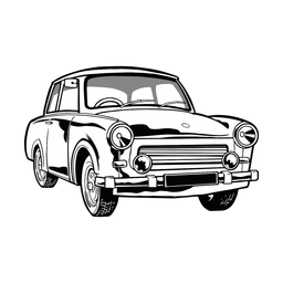 Ilustración del coche genial