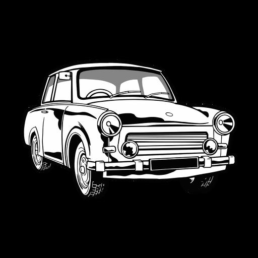 Ilustración de coche genial