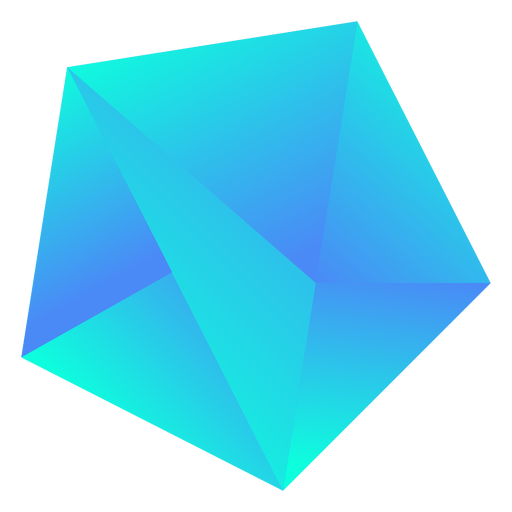 Chunky cool blue crystal