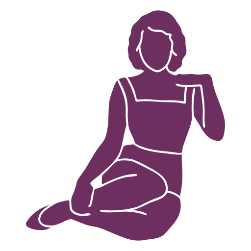 Classy pinup silhouette