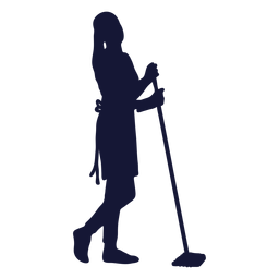 Cleaner silhouette sweeping