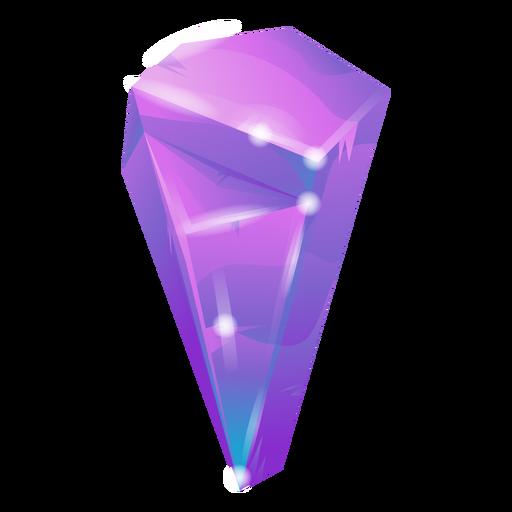 Cool purple crystal Transparent PNG