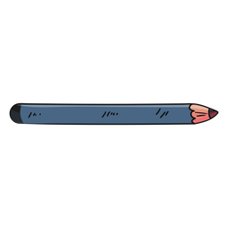 Cosmetics pencil simple