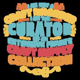 Letras de acumulador de artesanato