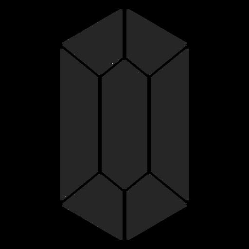 Crystal shape simple