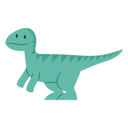 Cute dino side view