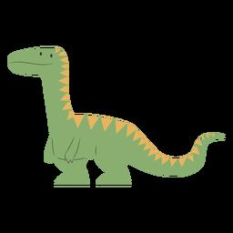 Lindo dinosaurio lindo de pie