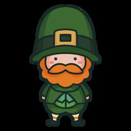 Homem bonito de caráter irlandês bonito