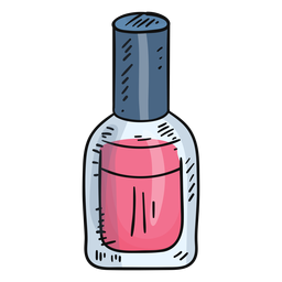 Cute nail polish bottle