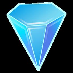 Diamantblauer Kristall