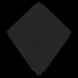 Forma de diamante agradable