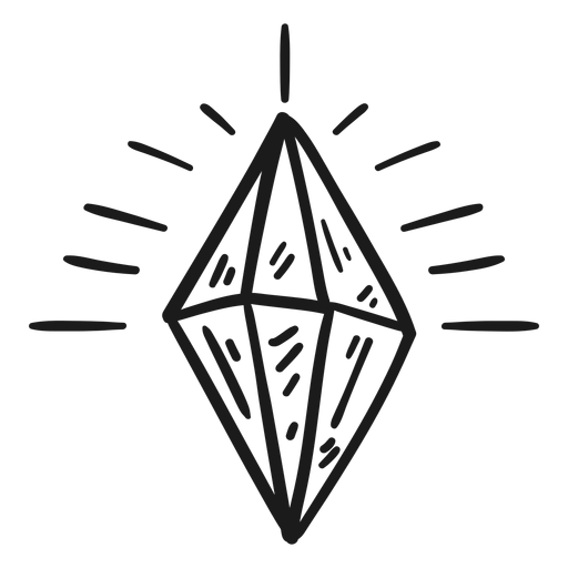 Diamond shining awesome crystal