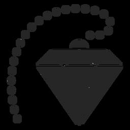 Diamante com círculos