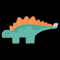 Dino estegosaurio lindo