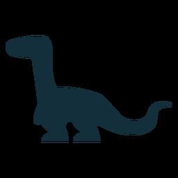 Dino trex silhouette