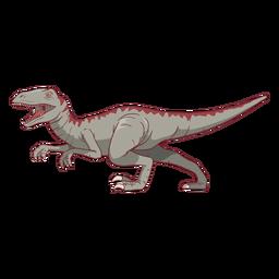 Dinosaur tyrannosaurus rex illustration