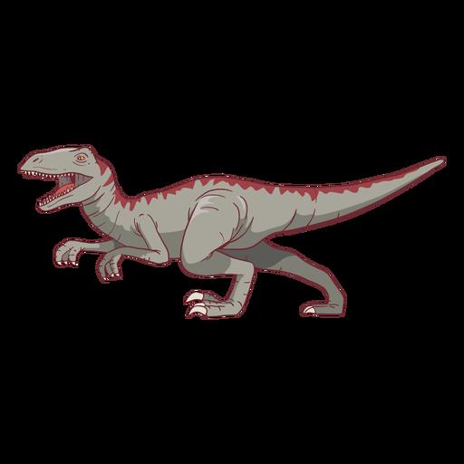 Ilustración de dinosaurio tiranosaurio rex