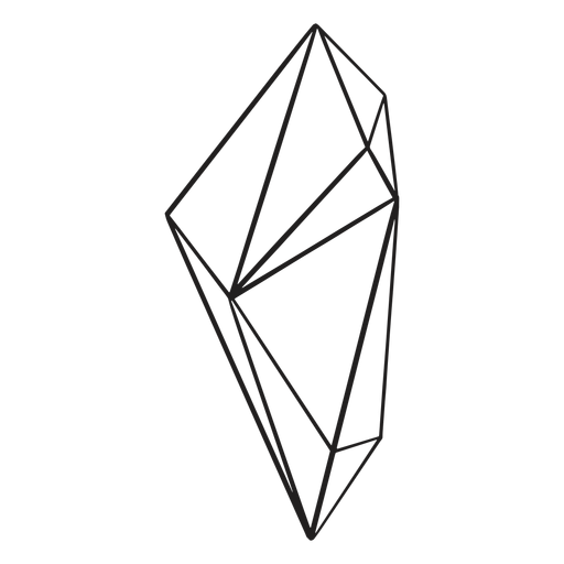 Drawn complex shape crystal