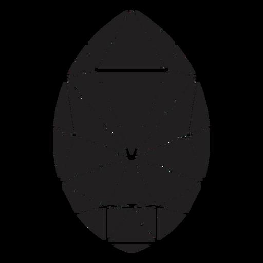 Egg shape simple crystal Transparent PNG