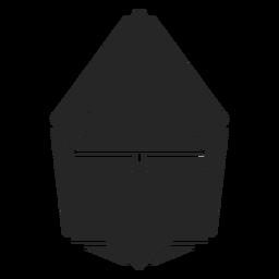 Blütenknospenform Kristall