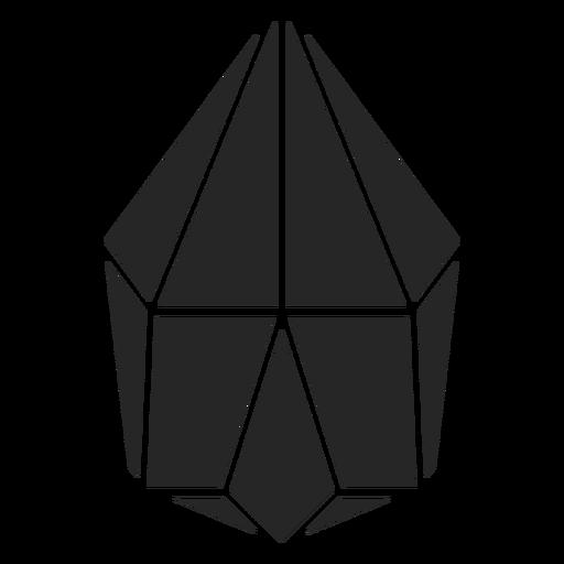 Flower bud shape crystal Transparent PNG