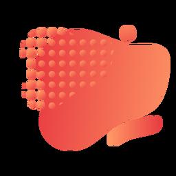 Fluxo de gradiente com círculos