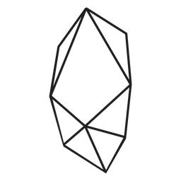 Icon block of crystal