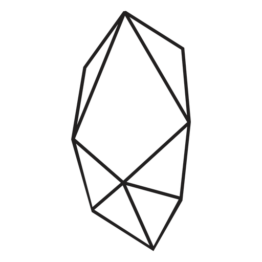 Icono de bloque de cristal