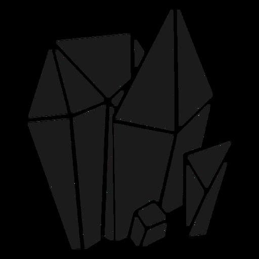 Nice simple crystal shapes