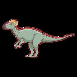 Pachycephalosaurus dinosaur illustration