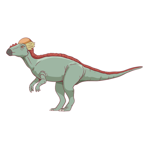 Pachycephalosaurus Dinosaurier Illustration