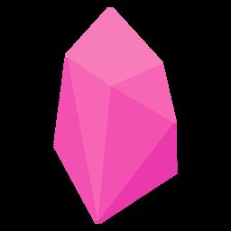 Jóia de cristal rosa
