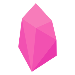 Pink crystal gem