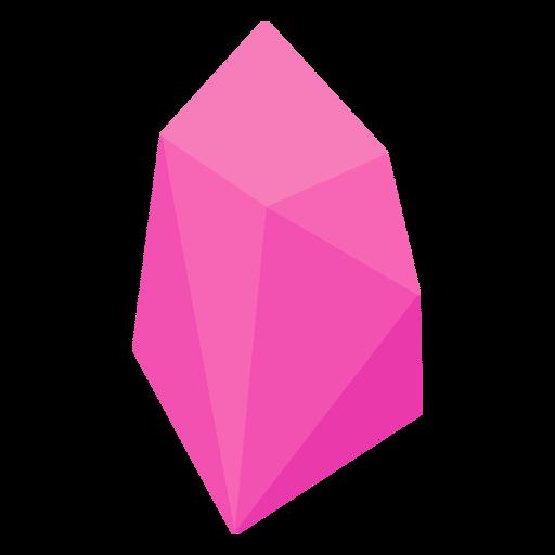 Pink crystal gem Transparent PNG