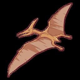 Ilustração de dinossauro pterodátilo